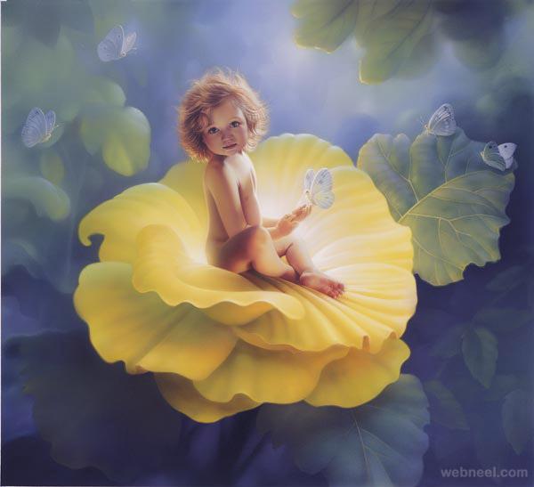 baby fantasy artwork