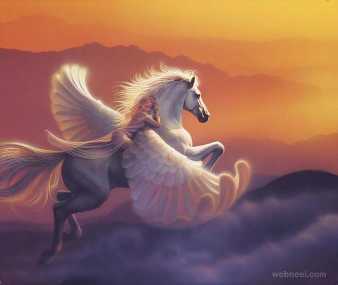 wings fantasy artwork
