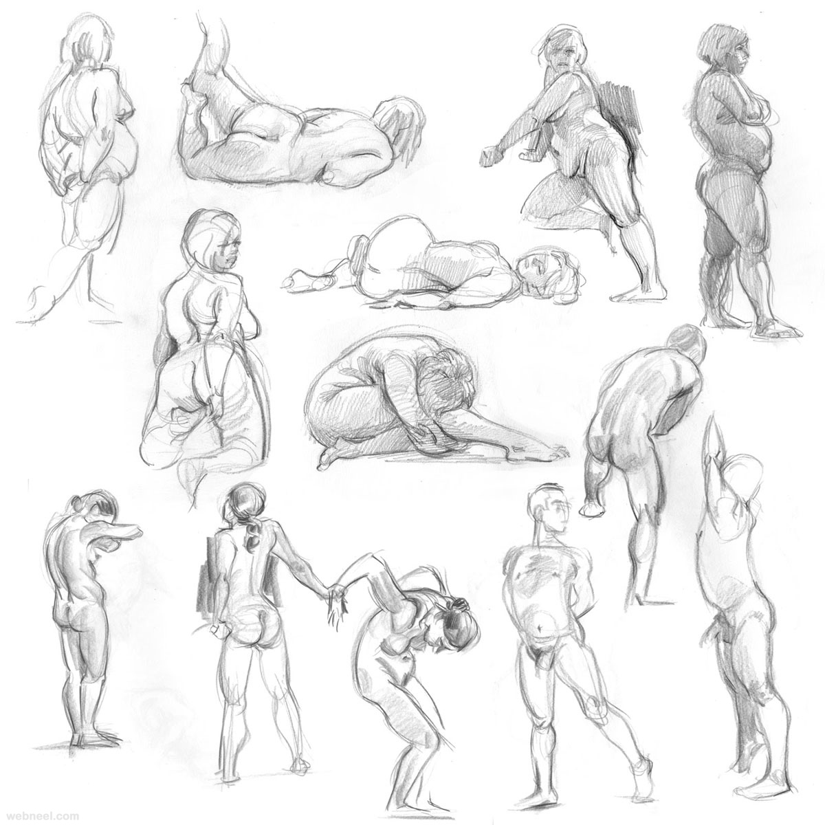 figure drawing models