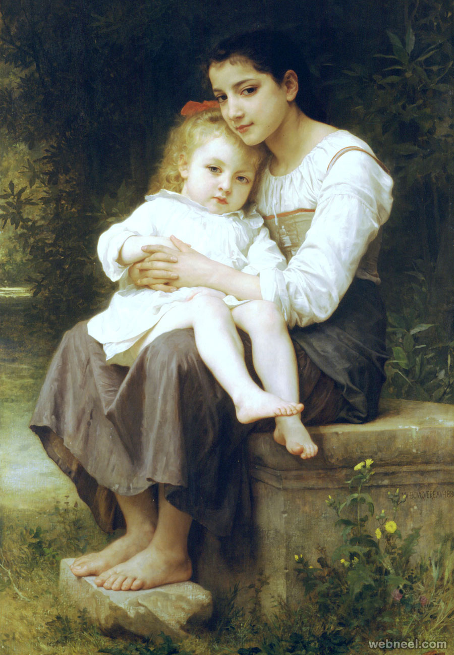 william bouguereau adolphe paintings