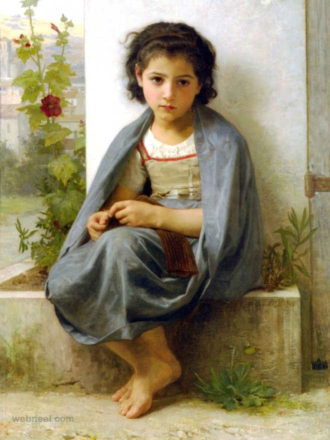 william bouguereau adolphe artwork