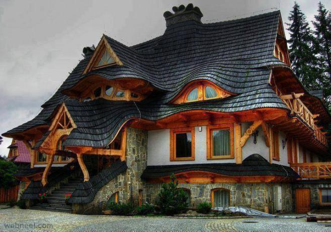 weird house design