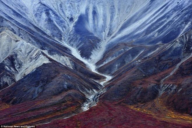 alaska mountain photography by miquel artus illana