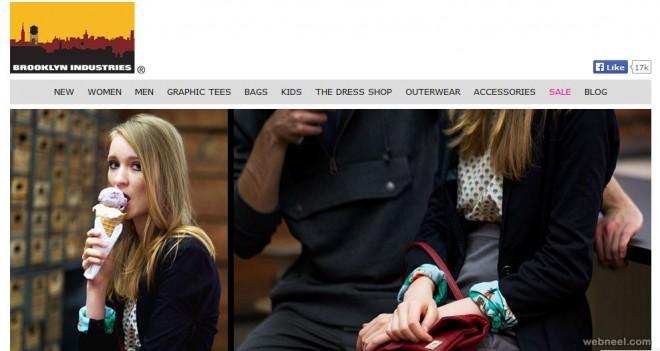 brooklyn industries fashion website