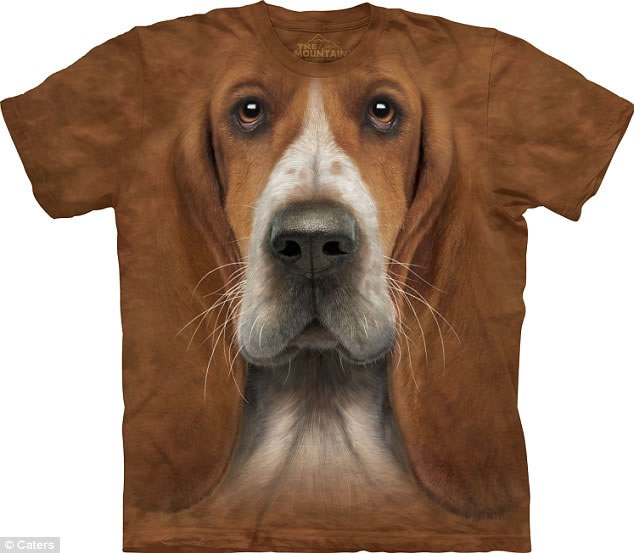 creative dog t shirt
