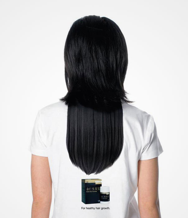 creative hair t shirts