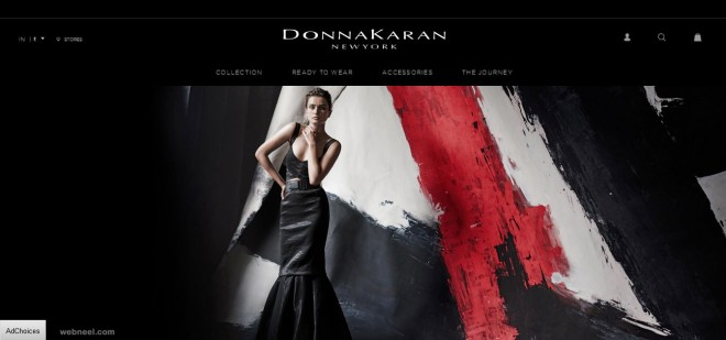 donna karan new york fashion website