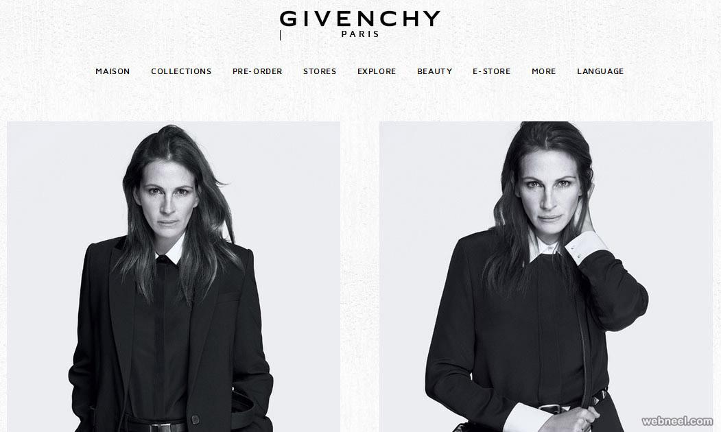 givenchy fashion website