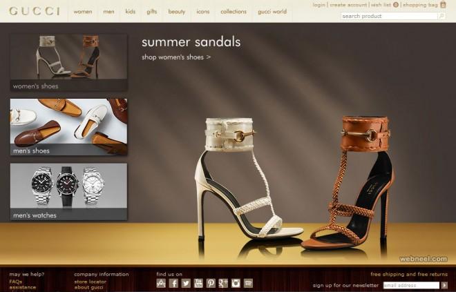 gucci fashion website