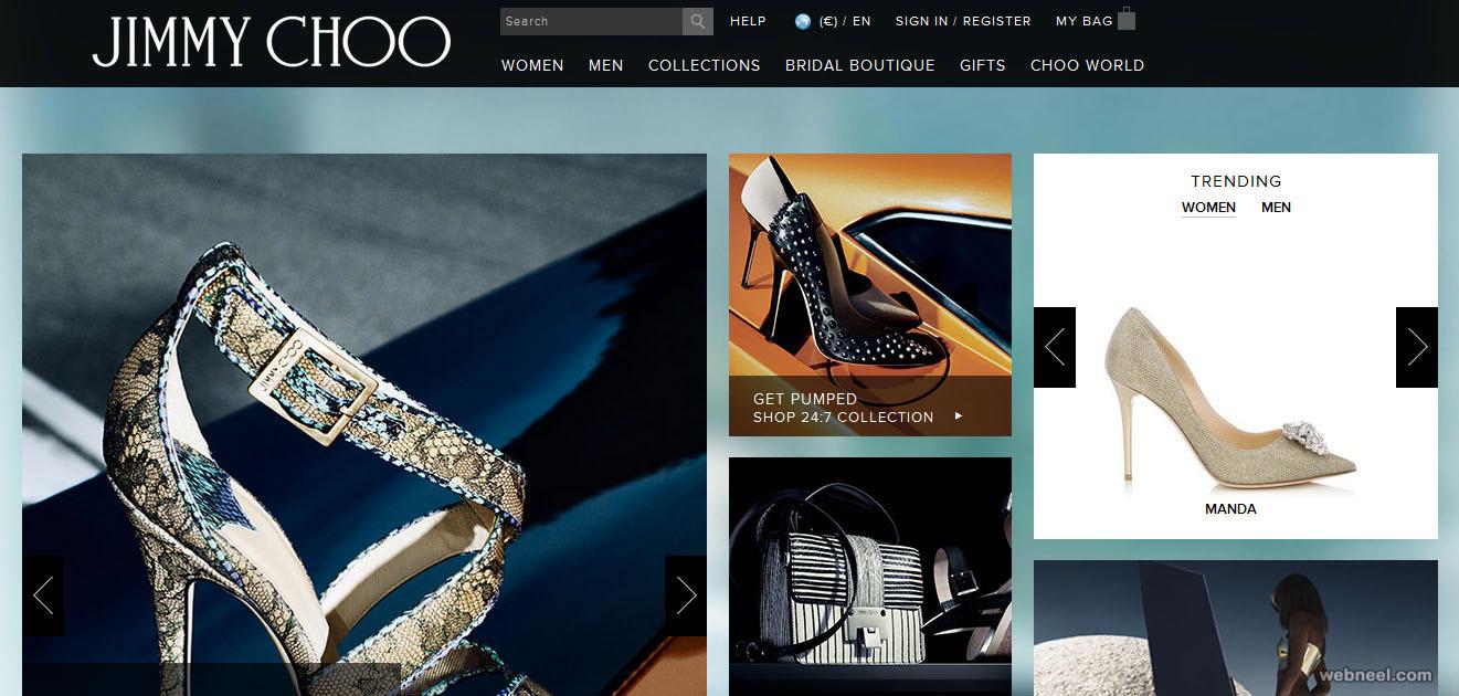 jimmy choo fashion website