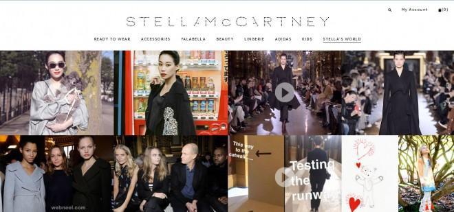 stella mccartney fashion website