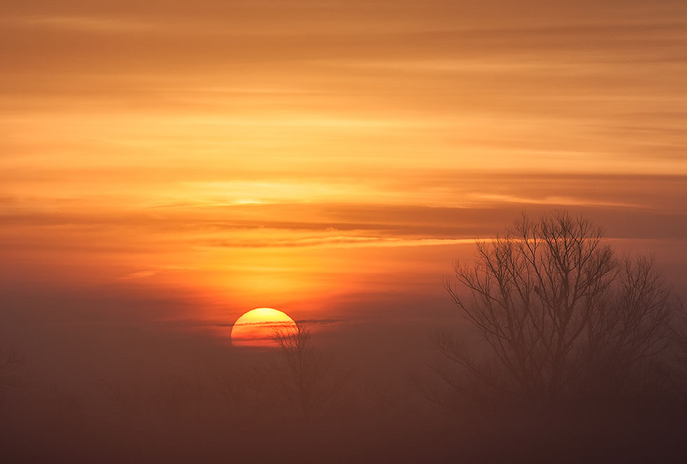 sunrise photo by fog hawk