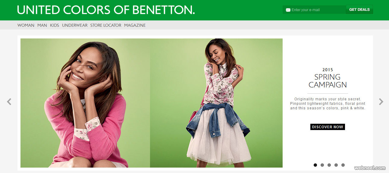 united colors of benetton fashion website