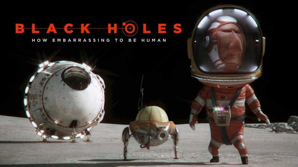 blackholes 3d animation short