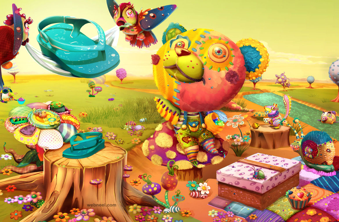 digital illustration by romeuejulieta studio