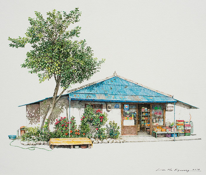 creative drawing by kyeoung lee