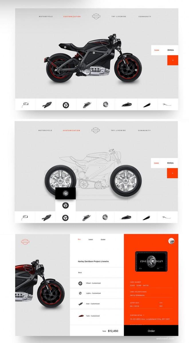 harley davidson branding design by chu chu