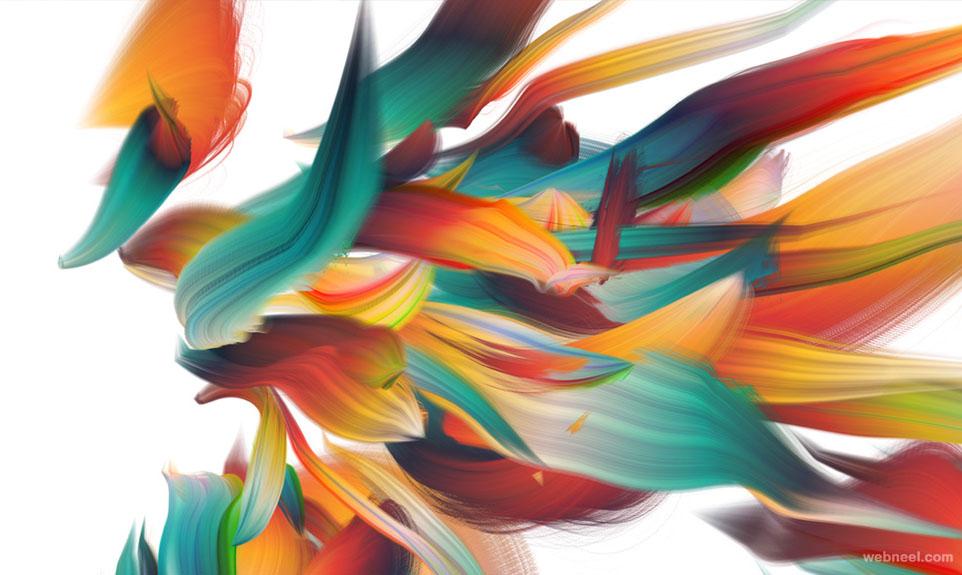 chromaflow 3d motion graphics effect