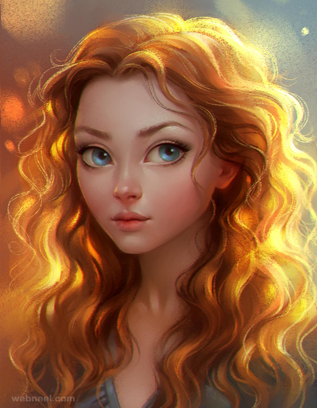 fantasy digital painting