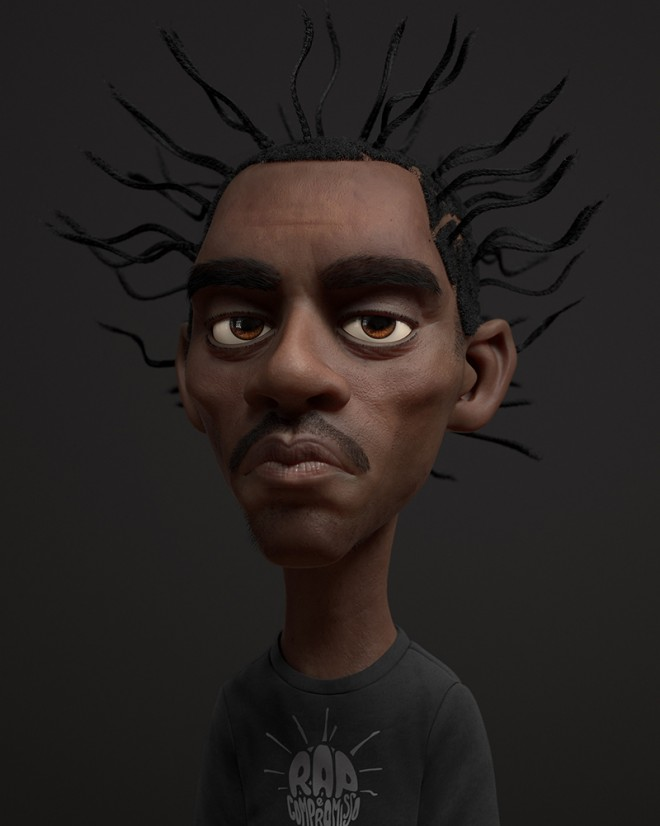 character 3d design by guzz soares