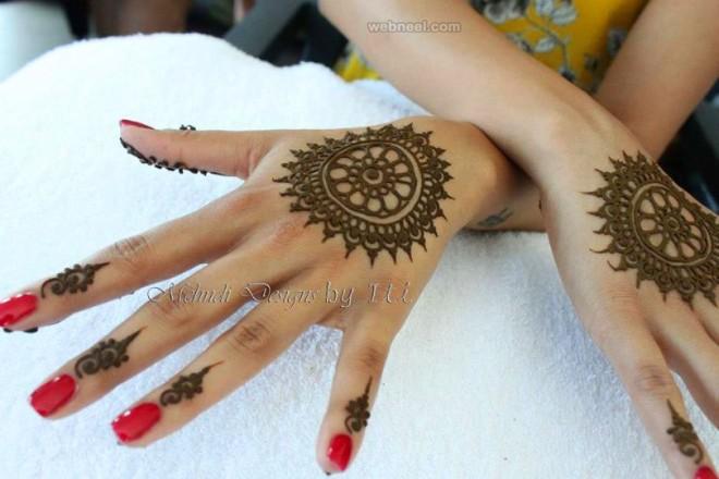 mehndi design by iti kalsi
