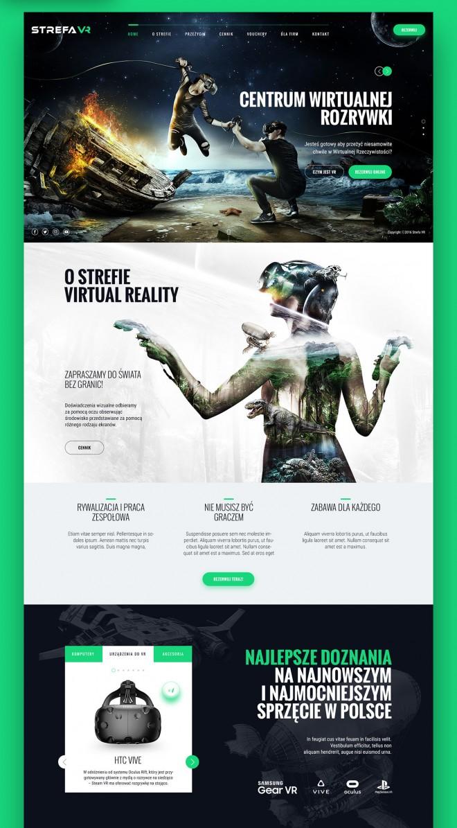 virtual reality branding design by pawel skupien