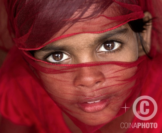 gypsy kid red photography sarathi damodaran
