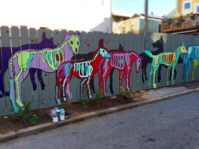 street art by locustsongs