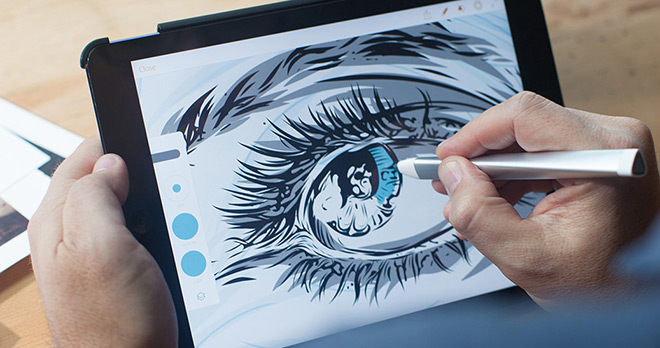 photoshop illustrator draw mobile app