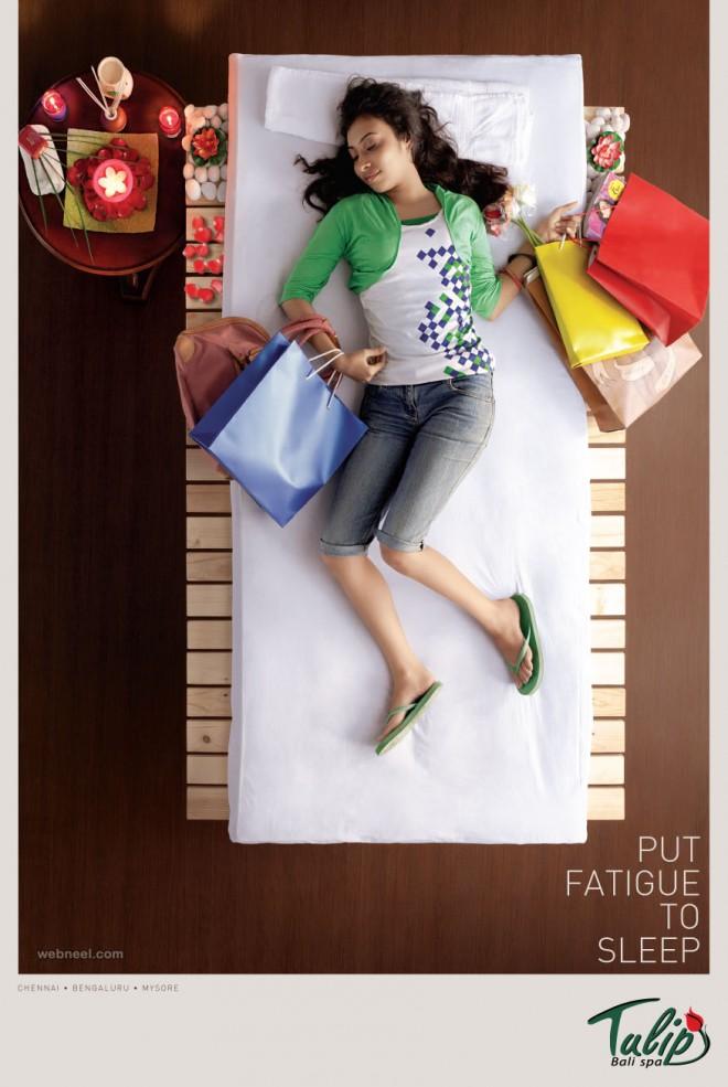 spa advertising ideas design