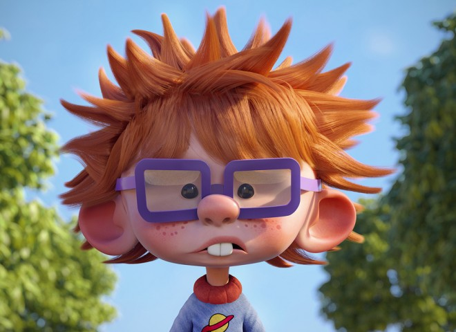 chuckie finster 3d design by guzz soares