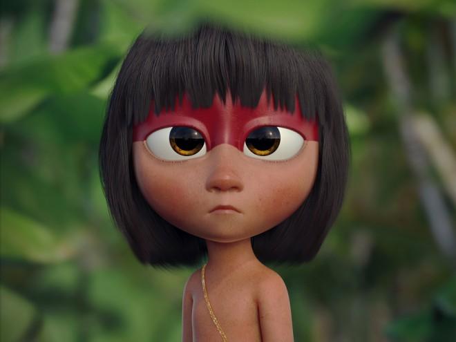 native girl 3d design by guzz soares