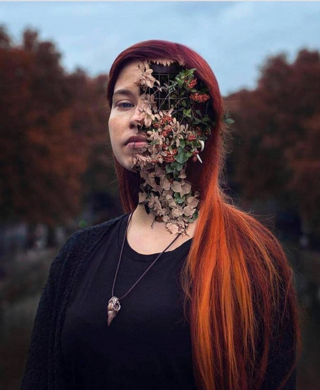 face photo manipulation by cal redback