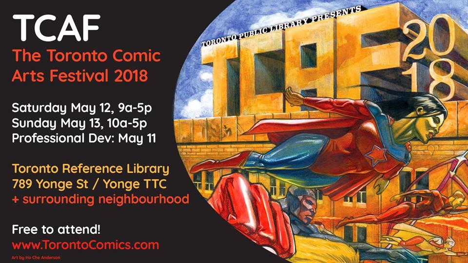 toronto comic art festival