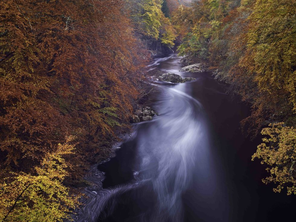 autumnal flow scottish photographer by michael