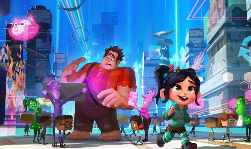 ralph breaks the internet animation movies 2018