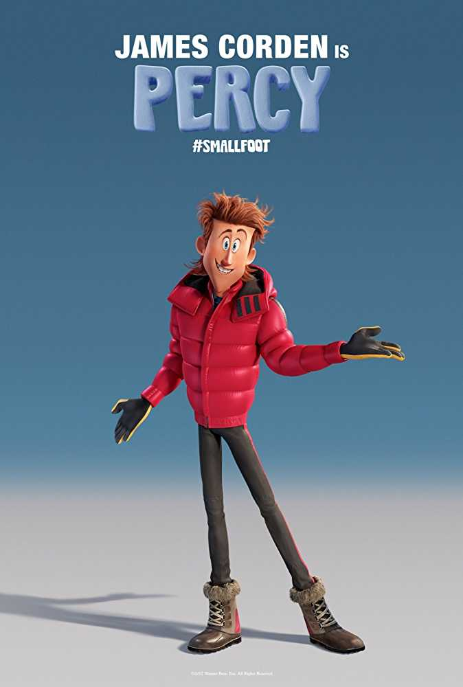 percy smallfoot character animation movies 2018