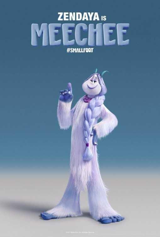meechee smallfoot character animation movies 2018