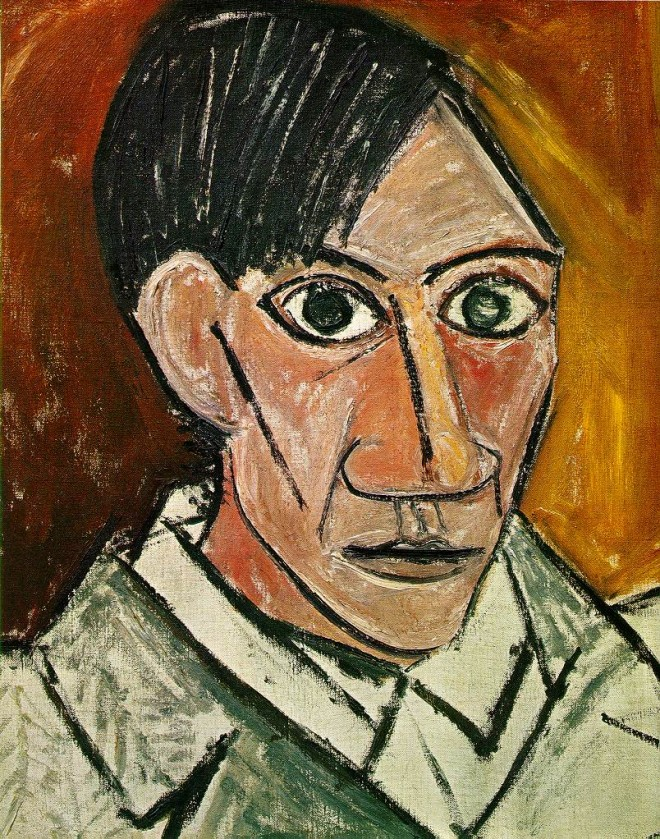 self portrait painting by pablo picasso