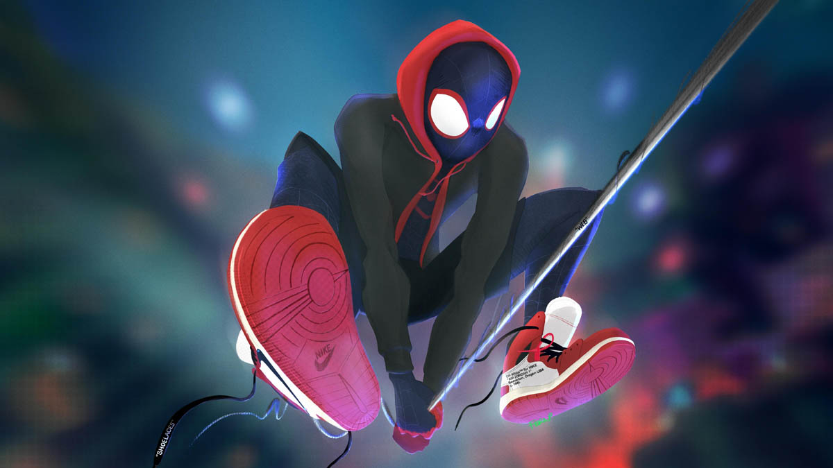 spiderman spiderverse animation movies 2018