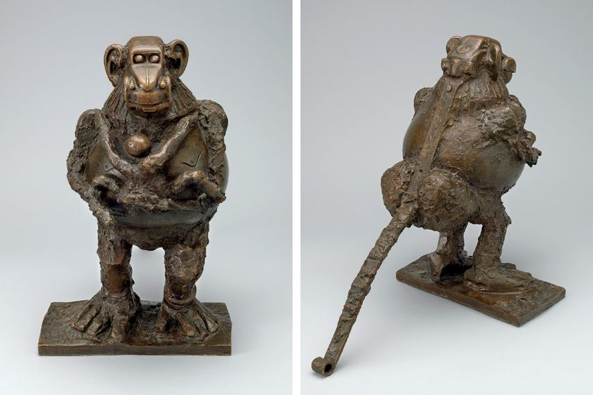 baboon sculpture by pablo picasso