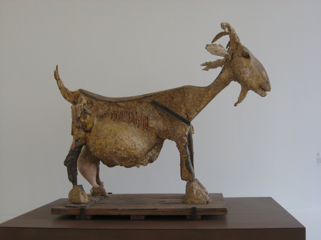goat sculpture by pablo picasso