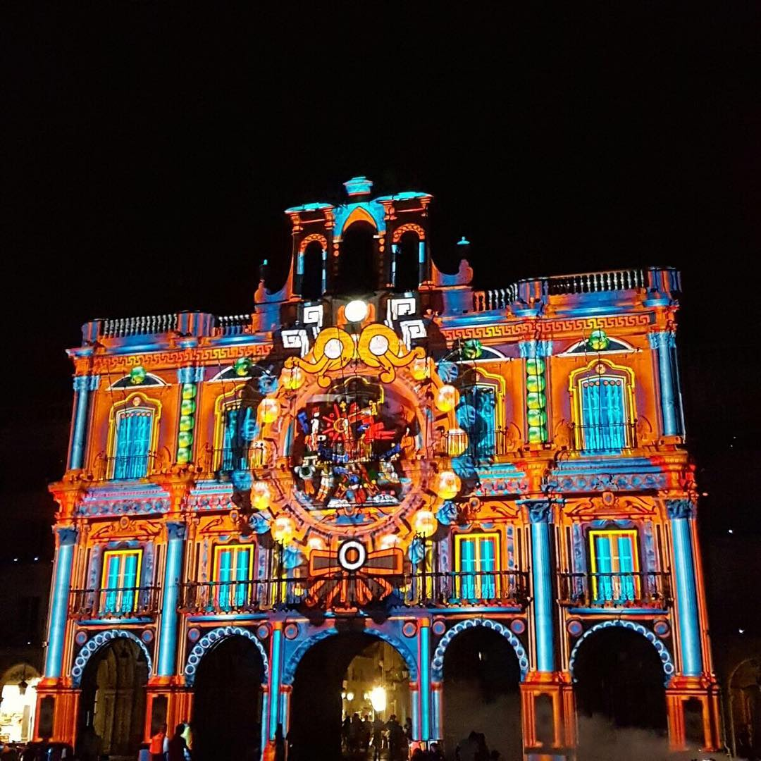 luzy vanguardias light art festival