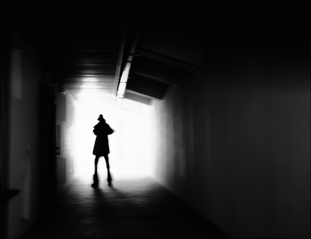 man shadow light photography by may lee