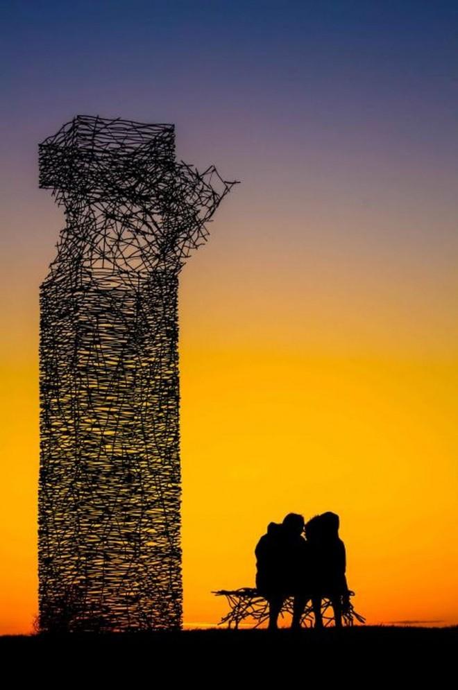 skytower sunset scottish photographer by mark mcgillivray