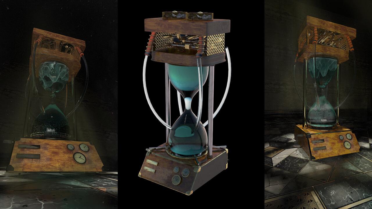 steampunk modelling design by vertex helix