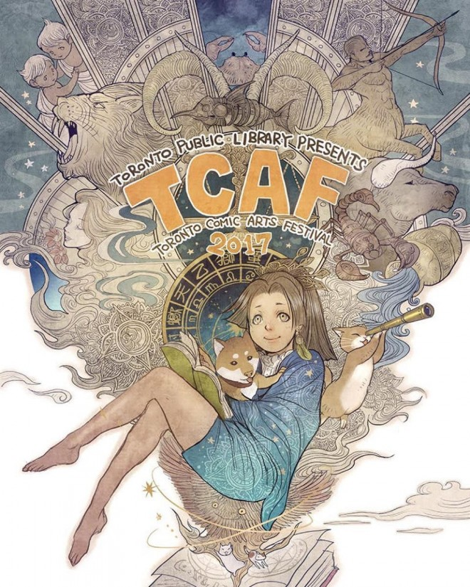 toronto comic art festival illustration by sana takeda