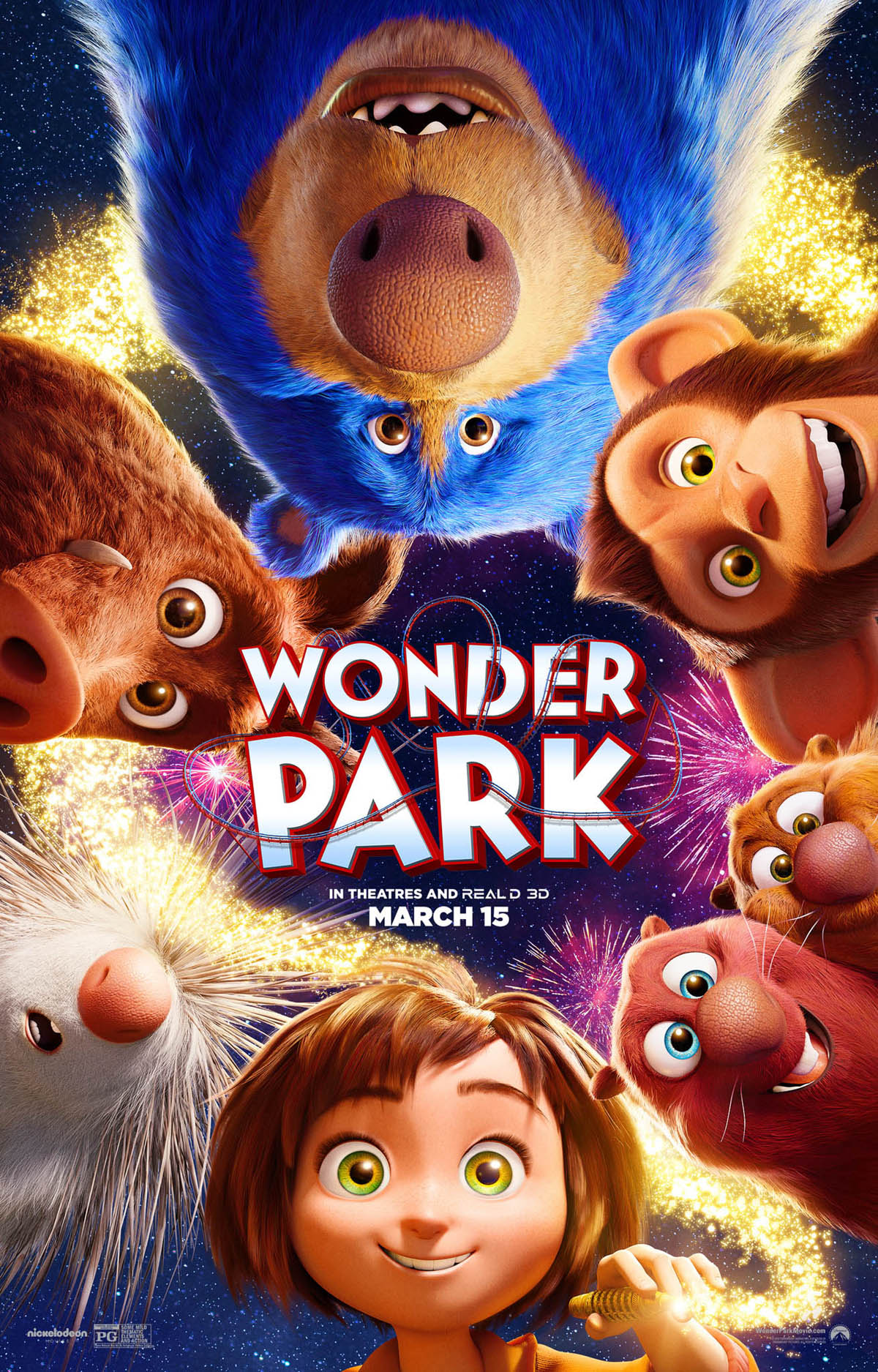 3d animation movie wonder park