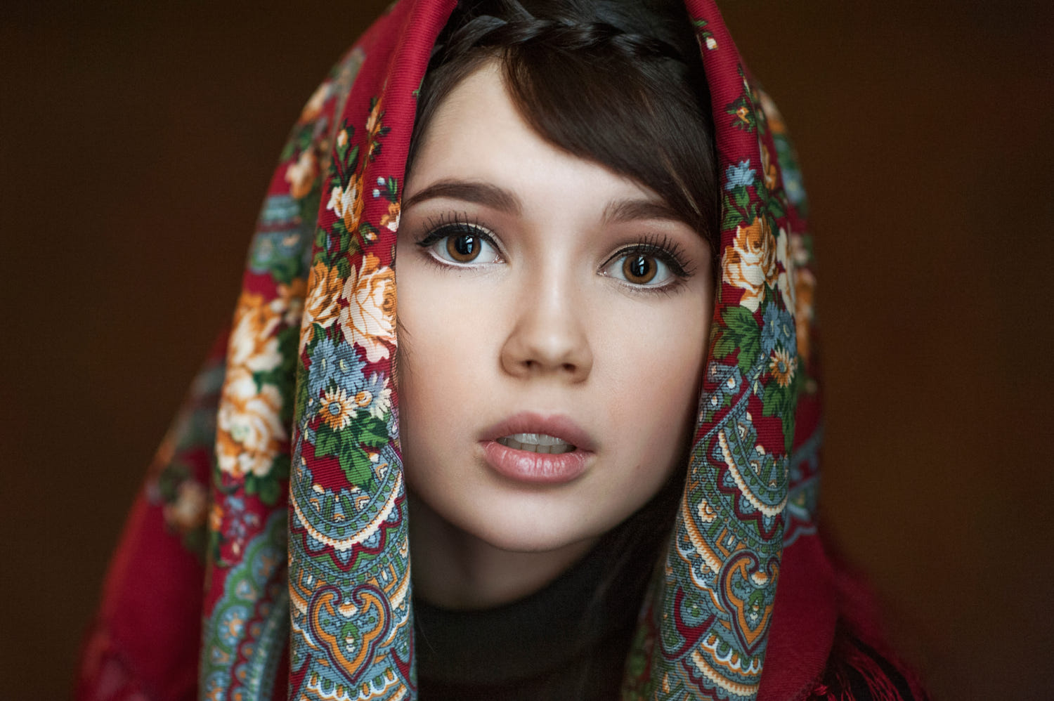 portrait photography girl by maxim maximov
