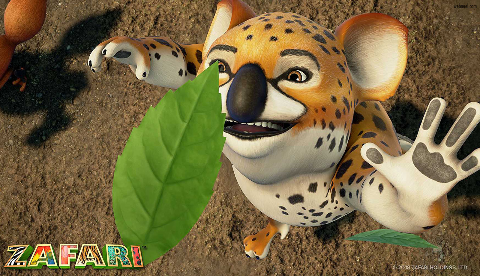 3d animation cartoon animals zafari by david dozoretz